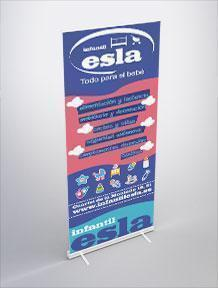 diseño gráfico roll-up